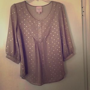 Sheer Romeo & Juliet Couture blouse